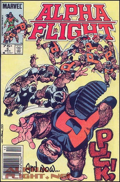 Alpha Flight Vol. 1 #5 cover