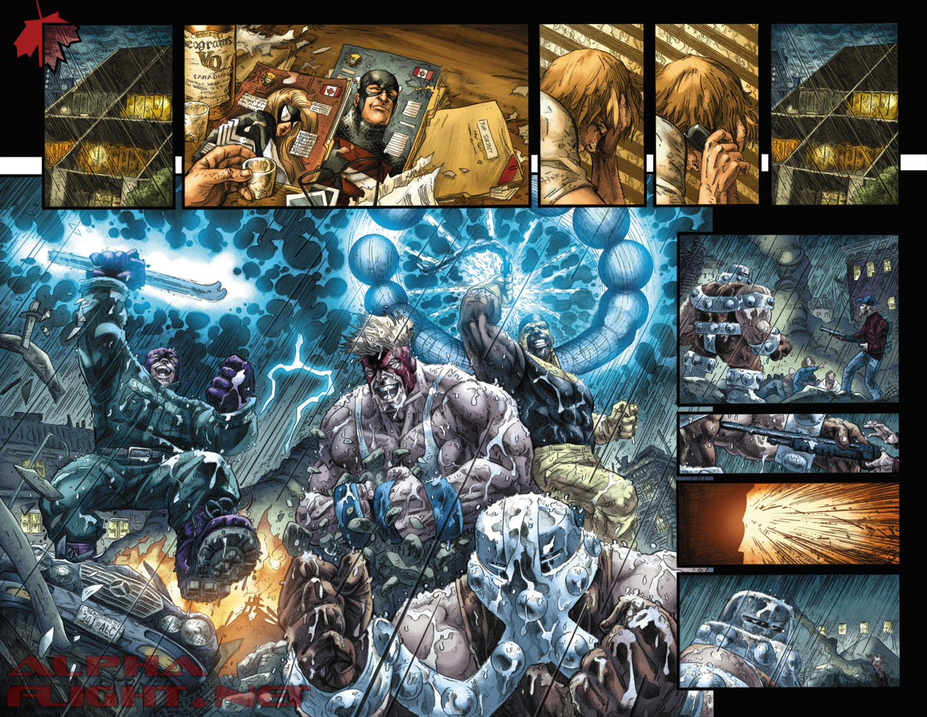 Omega Flight Preview Page #1