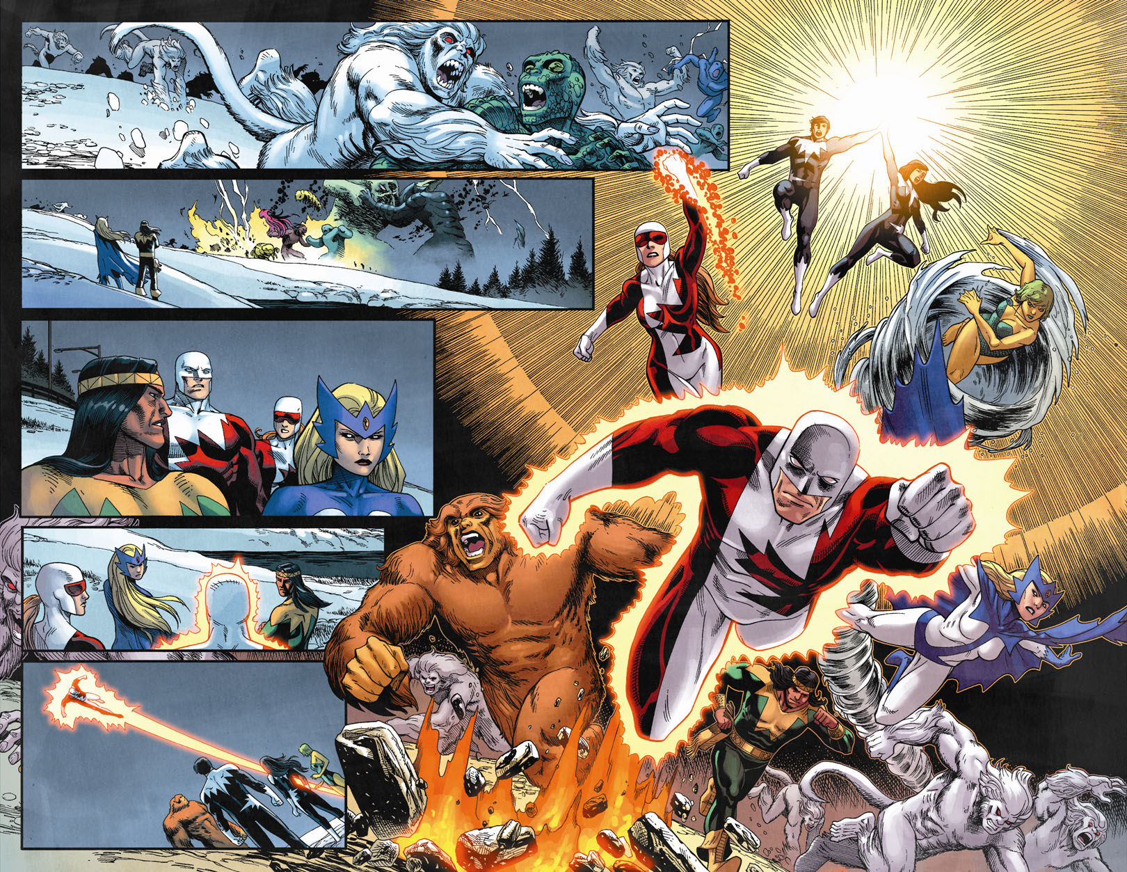 Chaos War:Alpha Flight Splash 3