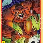 Sasquatch Trading Card