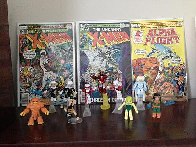 Alpha Flight Minimates