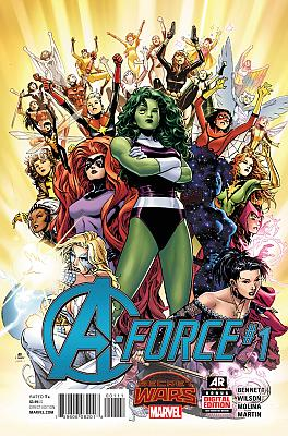 A-Force #1 (Regular Cover)
