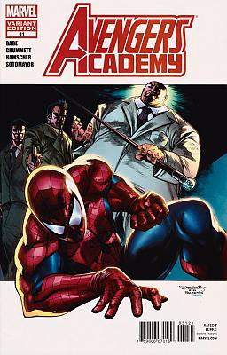 Avengers Academy #31 - Spider-Man In Motion Variant