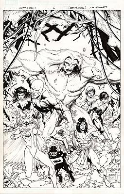 Alpha Flight (2011) #6 Unpublished Rejected Cover