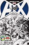 Avengers Vs X-Men #2 - Diamond Comics Retailer Summit Sketch Variant
