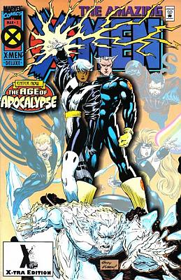 Amazing X-Men #1 Second Printing X-Tra Edition
