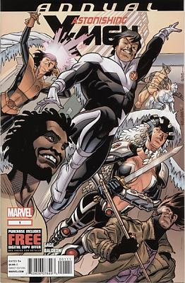Astonishing X-Men Annual 001