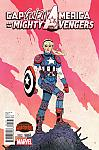 Captain America And The Mighty Avengers #9 Gwen Stacey Variant