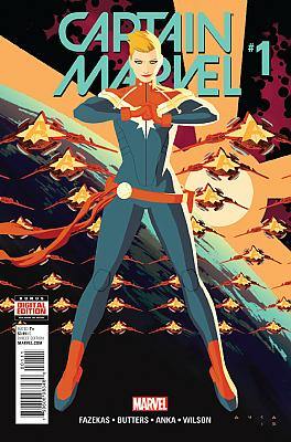 Captain Marvel (2016) #01