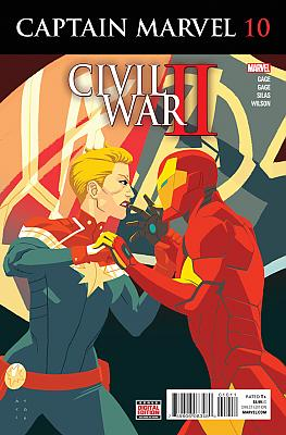 Captain Marvel (2016) #10