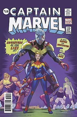 Captain Marvel (2017) #125 Second Printing Variant