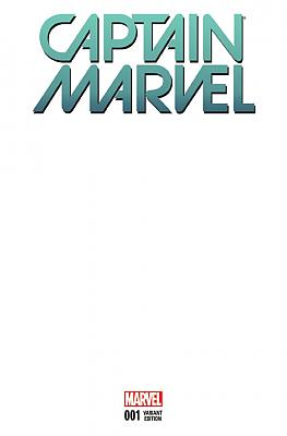 Captain Marvel (2016) #01 Blank Cover Variant