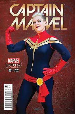 Captain Marvel (2016) #01 Cosplay Variant