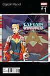 Captain Marvel (2016) #01 Hip-Hop Variant