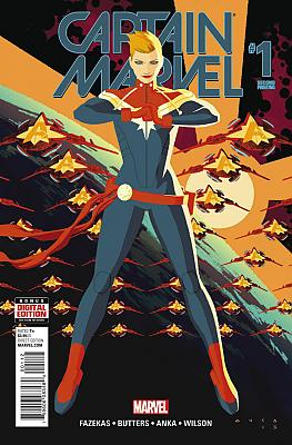 Captain Marvel (2016) #01 Second Printing