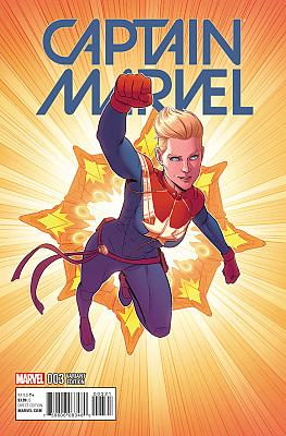 Captain Marvel (2016) #03 McKelvie Variant