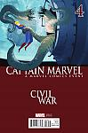 Captain Marvel (2016) #04 Civil War Variant