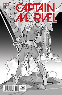 Captain Marvel (2016) #06 Civil War Re-Enactment Variant