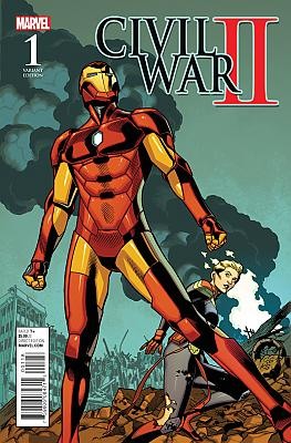 Civil War II #1 Battle Variant