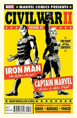Civil War II #1 Cho Variant