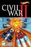 Civil War II #1 Hot Wheels Variant