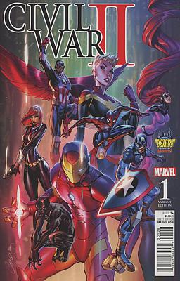 Civil War II #1 Midtown Comics Exclusive Variant