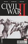Civil War II #1 McNiven Sketch Variant