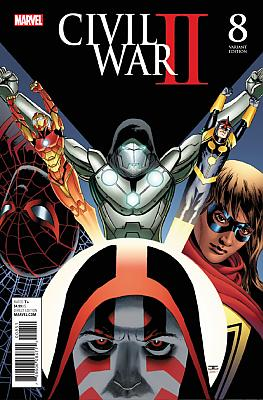 Civil War II #8 Cassaday Variant