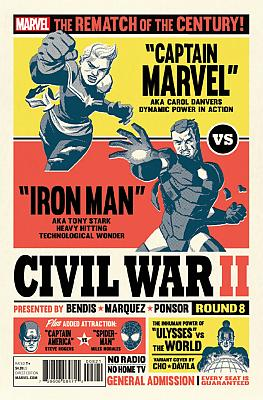 Civil War II #8 Cho Variant
