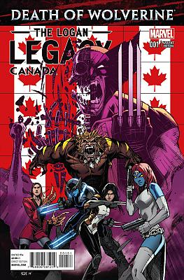 Death Of Wolverine: The Logan Legacy #1 Canada Variant
