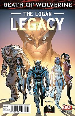 Death Of Wolverine: The Logan Legacy #1 Wizard World Ohio Variant