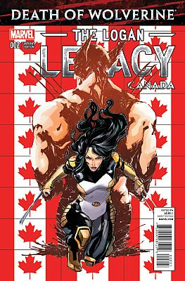 Death Of Wolverine: The Logan Legacy #2 Canada Variant