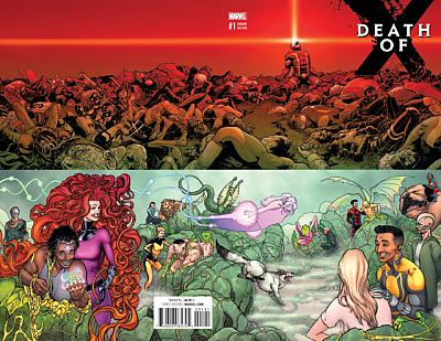 Death Of X #1 Wraparound Variant