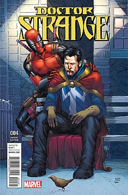 Doctor Strange (2015) #04 Deadpool Variant