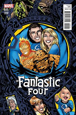 Fantastic Four #645 Golden Connecting Variant