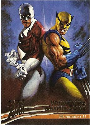 #018 - Wolverine and Weapon Alpha (Front)