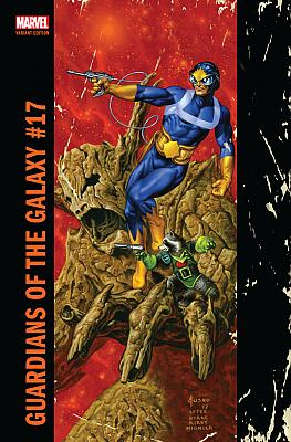Guardians Of The Galaxy (2015) #17 Jusko Corner Box Variant