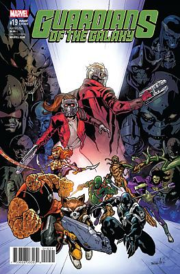 Guardians Of The Galaxy (2015) #19 Schiti Variant