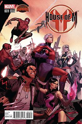 House Of M (2015) #1 Promo Variant