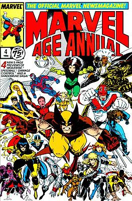Marvel Age Annual #4 (1988)