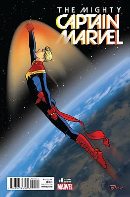 The Mighty Captain Marvel (2017) #0 Rosanas Variant