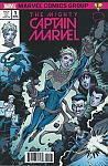 The Mighty Captain Marvel (2017) #01 Legends Comics/Brain Trust B Variant