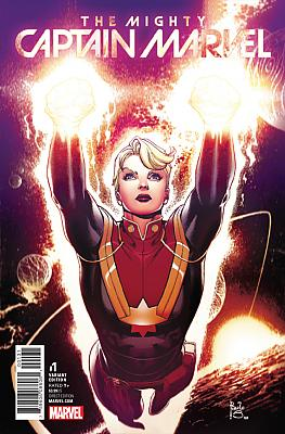 The Mighty Captain Marvel (2017) #01 (Siqueira Variant)