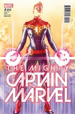 The Mighty Captain Marvel (2017) #01 (Ross Variant)