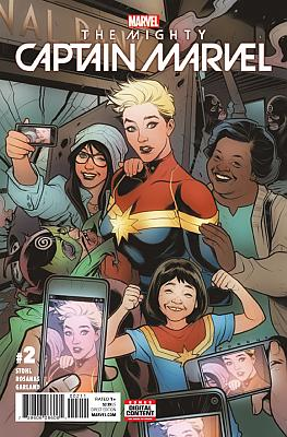 The Mighty Captain Marvel (2017) #02