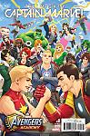 The Mighty Captain Marvel (2017) #02 Avengers Academy Video Game Variant