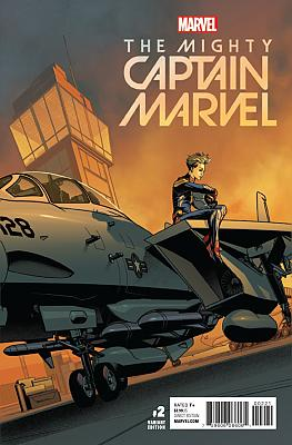 The Mighty Captain Marvel (2017) #02 McKone Variant