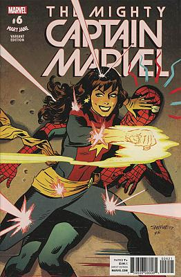 The Mighty Captain Marvel (2017) #06 Mary Jane Variant