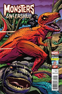 Monsters Unleashed (2016) #2 (Kirby 100th Variant)