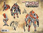 Monsters Unleashed (2016) #4 Larroca New Monster Design Variant